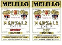Melillo Marsala Fine I.P. Sweet 1.00l - Case of 12